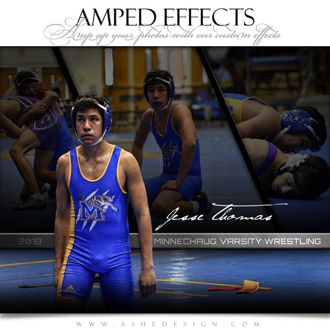 Amped Effects - Faded Triptych - Wrestling