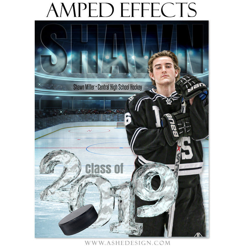 Ashe Design 16x20 Amped Effects - On Ice 2019 Seniors