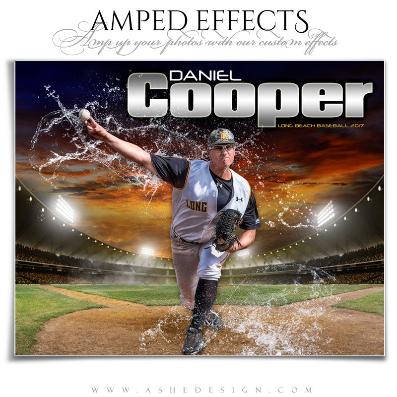 Amped Effects - Splashing Through - Baseball
