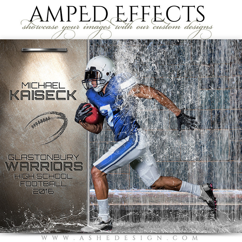 Amped Effects - Waterfall Football