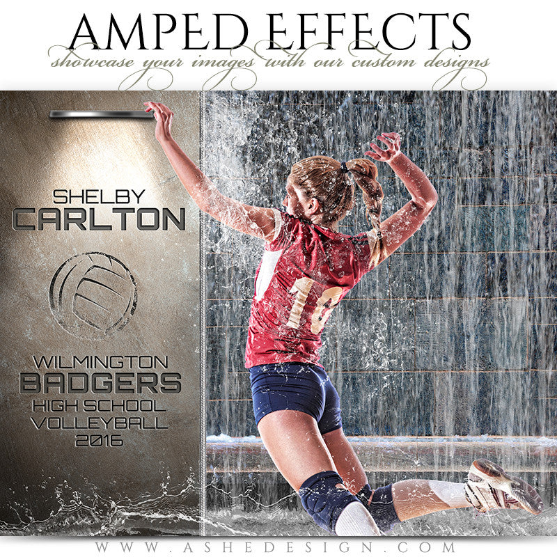 Amped Effects - Waterfall Volleyball