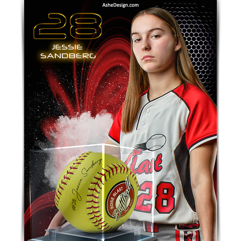 Amped Effects - Display Case Softball - Screen Play