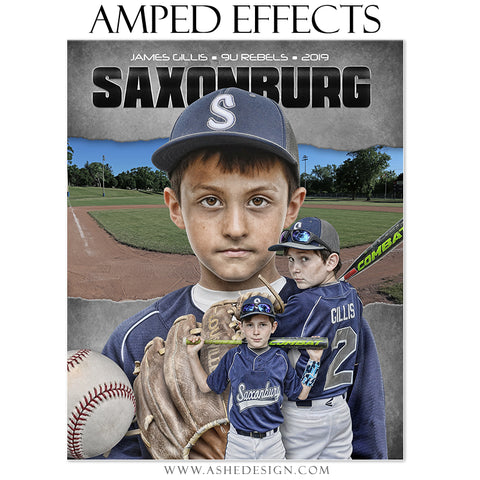 Amped Effects - Game Face Baseball