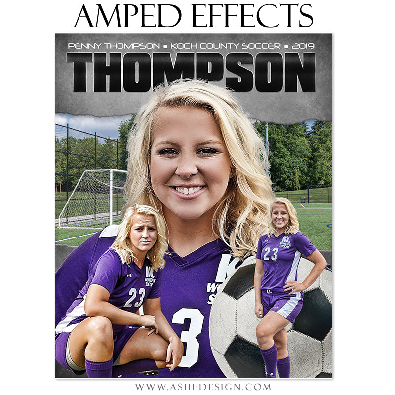 Amped Effects - Game Face Soccer