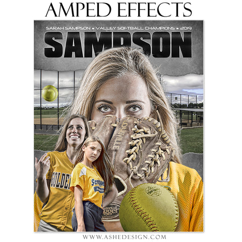 Amped Effects - Game Face Softball