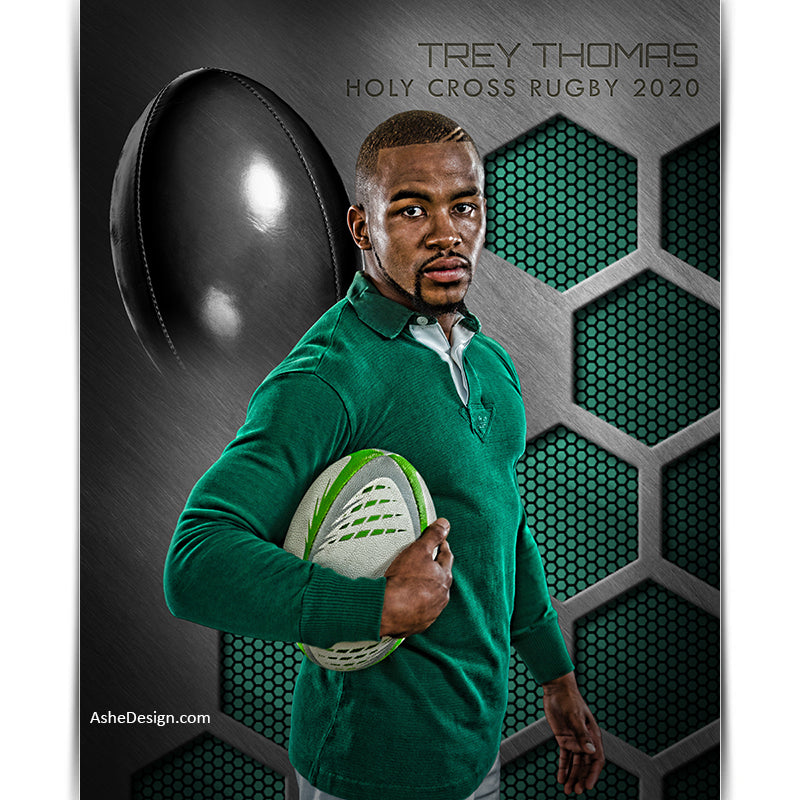 Amped Effects - Honeycomb Steel - Rugby