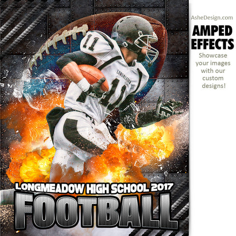 Amped Effects - Molten Football