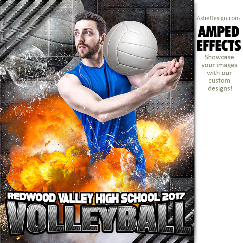 Amped Effects - Molten Volleyball