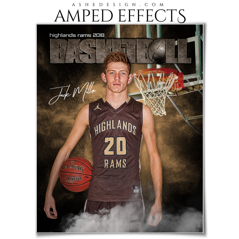 Amped Effects - Rocked Basketball