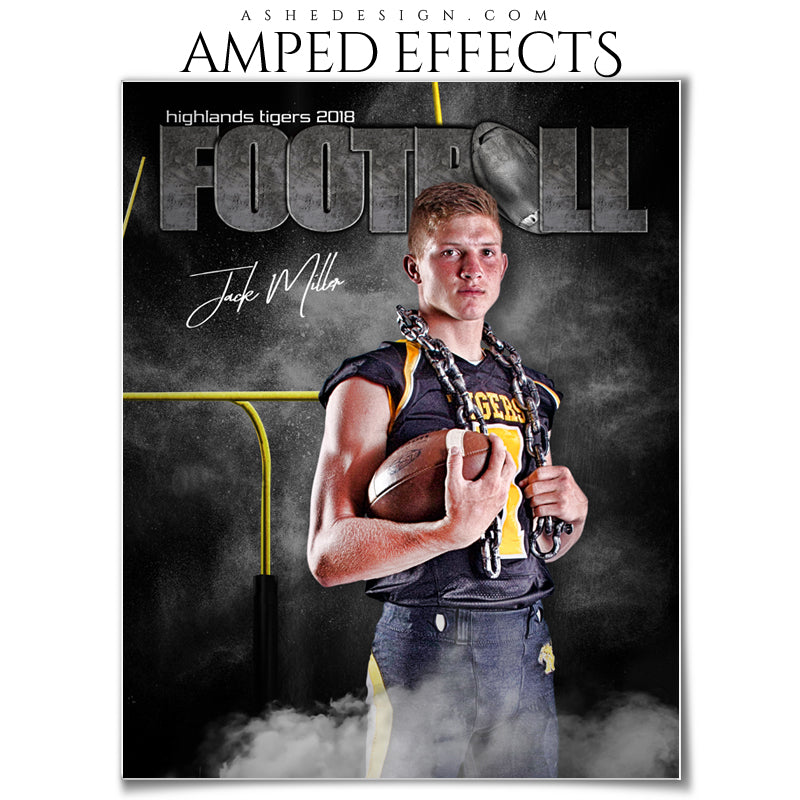 Amped Effects - Rocked Football