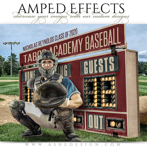 Amped Effects - Scoreboard Baseball