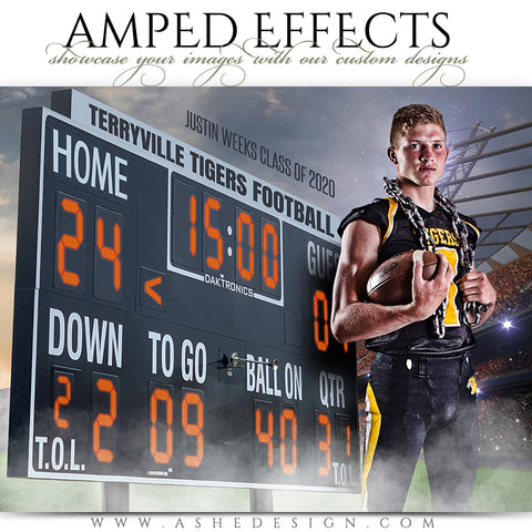 Amped Effects - Scoreboard Football
