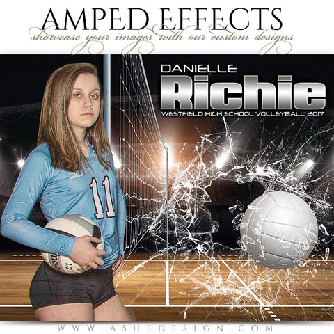 Amped Effects - Smashing Through Volleyball
