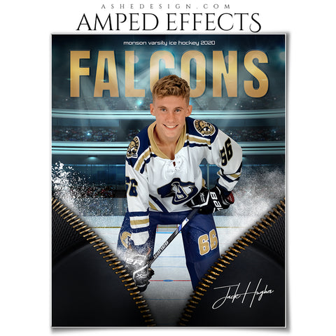 Amped Effects - Unzipped Hockey