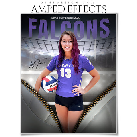 Amped Effects - Unzipped Volleyball