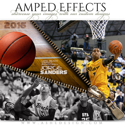Amped Effects - Zipped Basketball