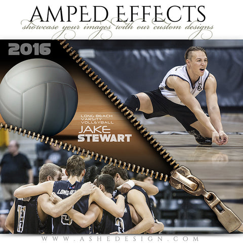 Amped Effects - Zipped Volleyball
