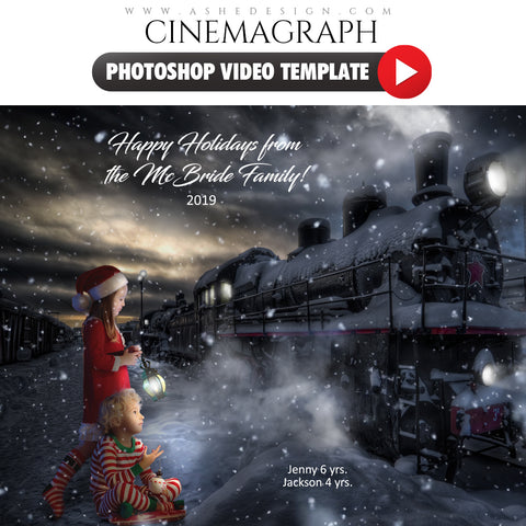 Photoshop Cinemagraph - Polar Express