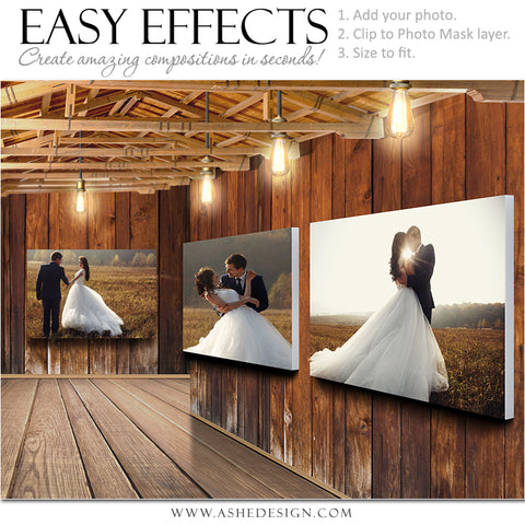Easy Effects - Barn Gallery Landscape