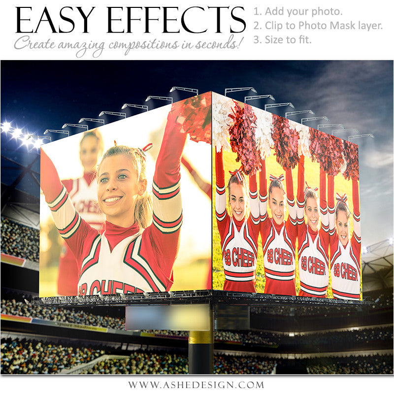 Easy Effects - Billboard Stadium Double Take