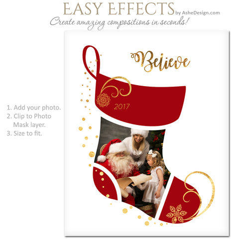 Easy Effects - Christmas Stocking