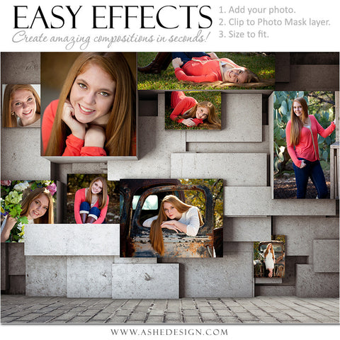 Easy Effects - Geometric Stone