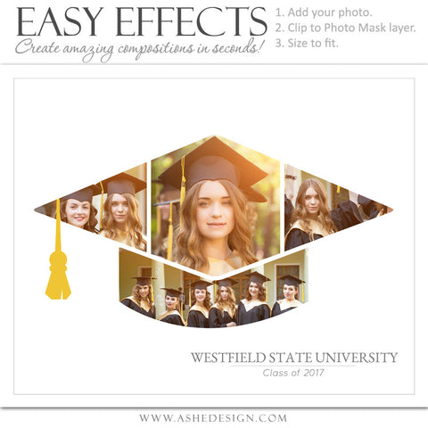 Easy Effects - Graduation Cap