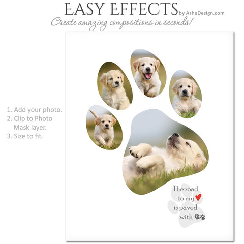 Easy Effects - Paw Prints