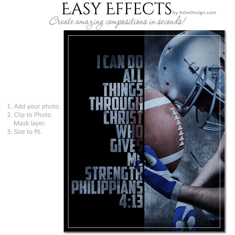 easy effects - photo overlays