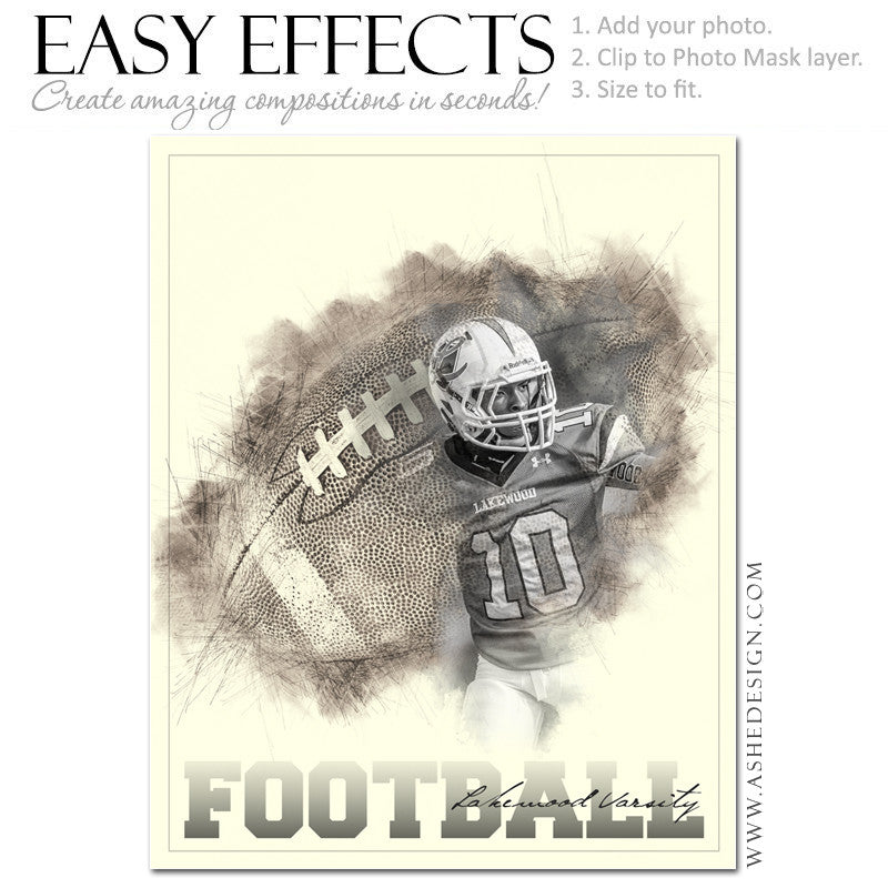 Easy Effects - Artistic Sketch Football