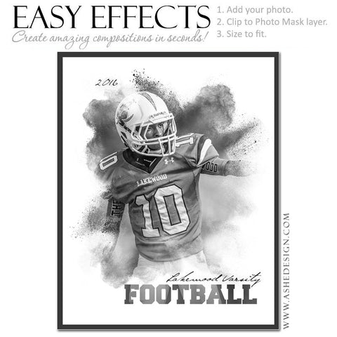 Easy Effects - Powder Explosion Football