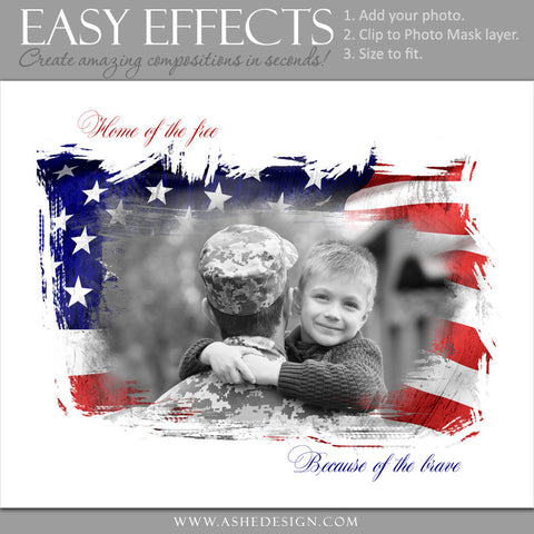 Ashe Design Easy Effects - Home Of The Free