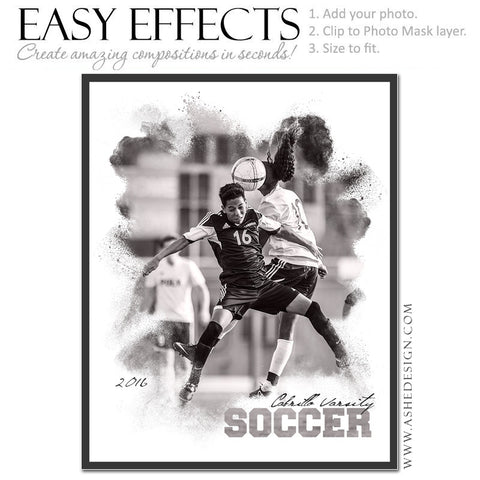 Easy Effects - Powder Explosion Soccer