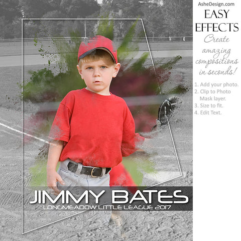Easy Effects - Powder Burst Baseball