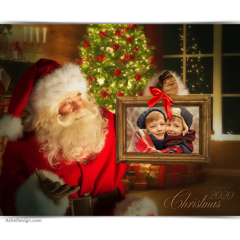 Easy Effects - 16x20 Santa Portraits