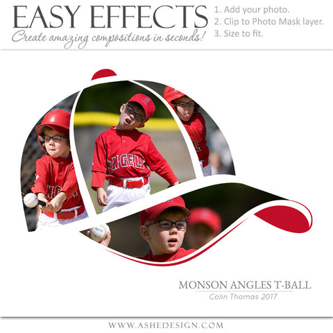Easy Effects - Sports Segment - Baseball Cap