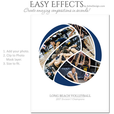 Easy Effects - Sports Segment - Volleyball