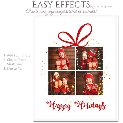 Ashe Design 16x20 Easy Effects - The Gift