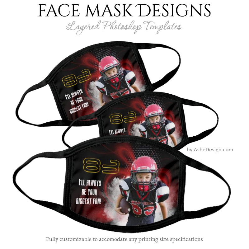 Face Mask Template - Screen Play