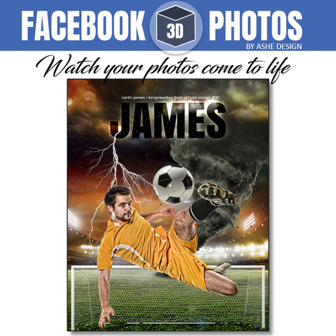 Facebook 3D Photo - Tornado Alley Soccer