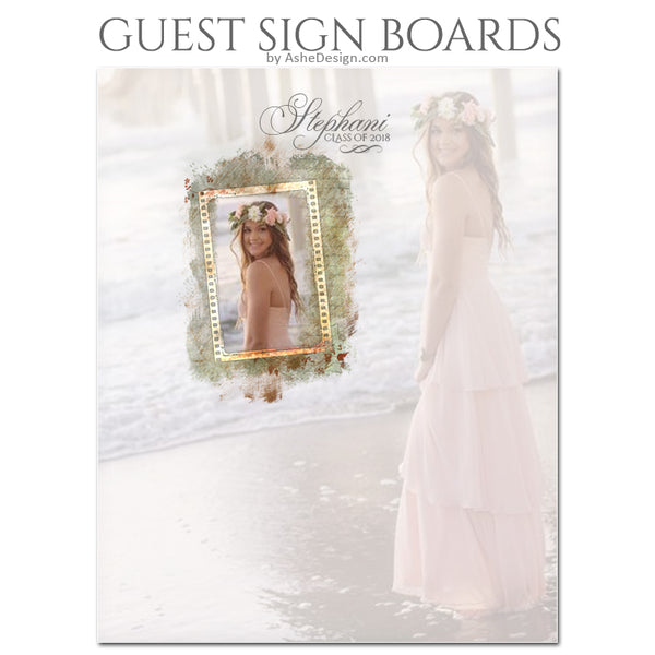 Ashe Design 16x20 Guest Sign Boards - Passages BEFORE