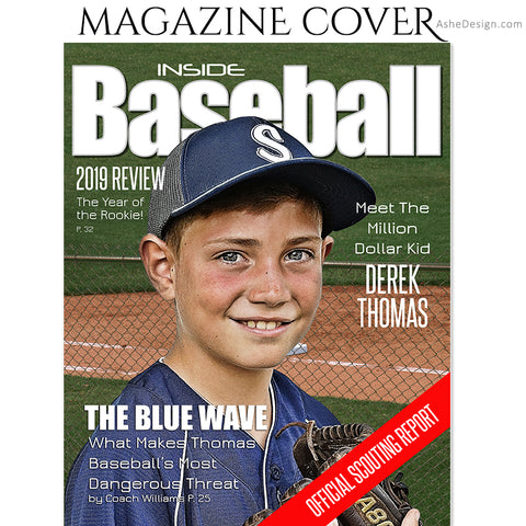 Sports Magazine Cover 8x10 - Inside Baseball