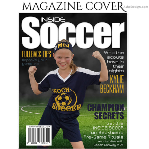 Sports Magazine Cover 8x10 - Inside Soccer