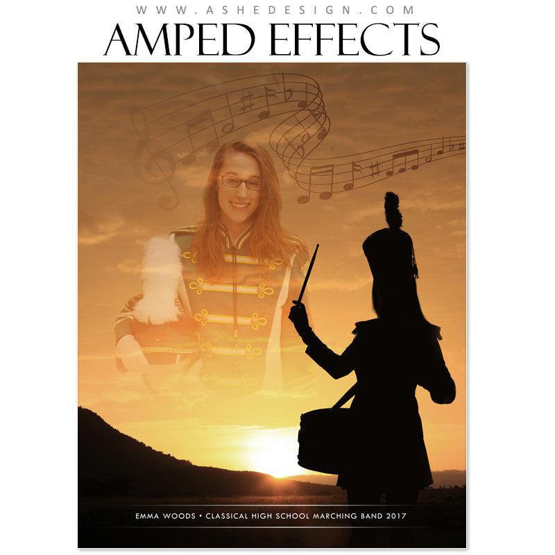 Amped Effects - Marching Band Silhouette