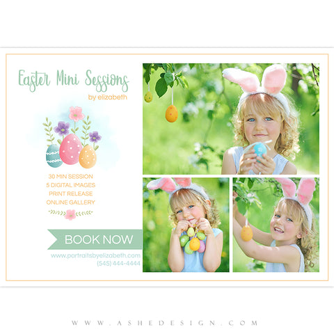Ashe Design 5x7 Marketing Board - Easter Minis