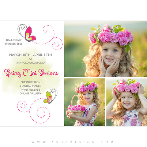 Ashe Design 5x7 Marketing Board - Spring Minis