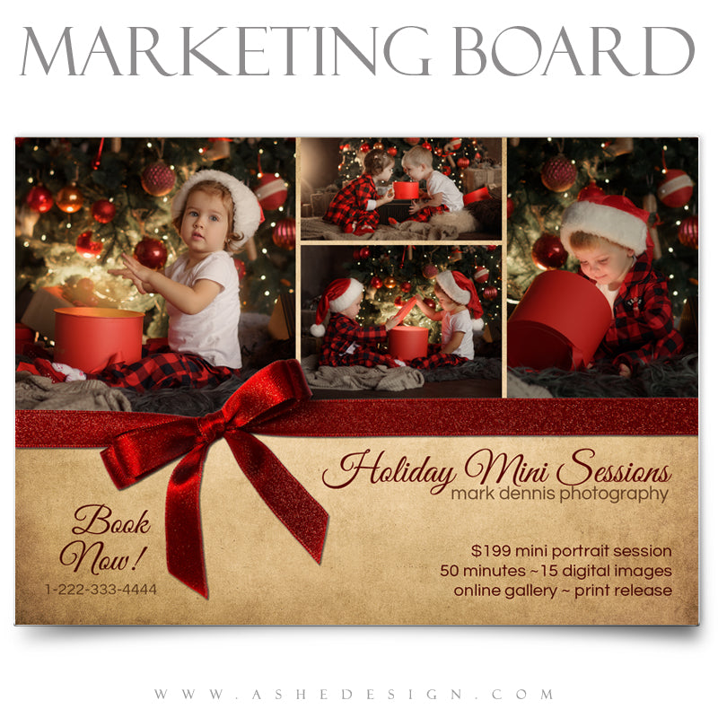 5x7 Flat Marketing Board - The Magic of Christmas
