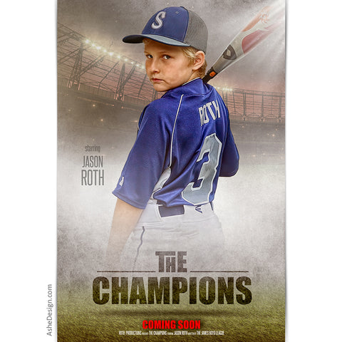 Movie Poster - The Champions