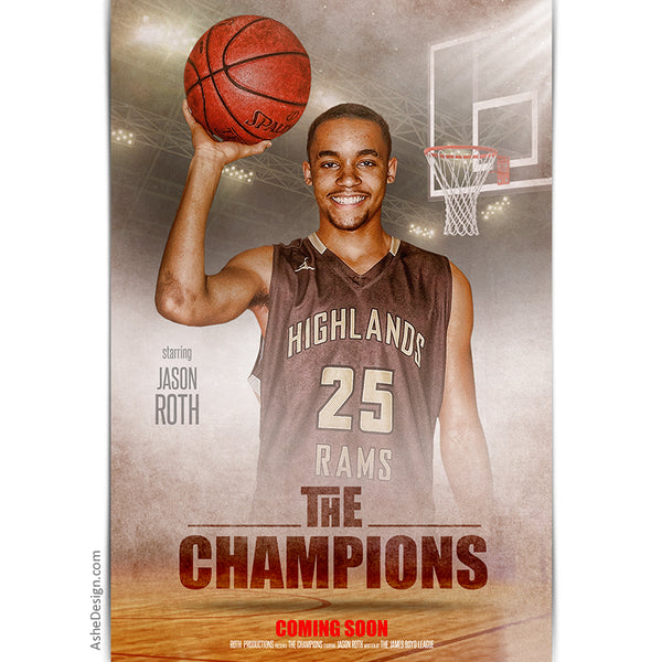 Movie Poster - The Champions Basketball