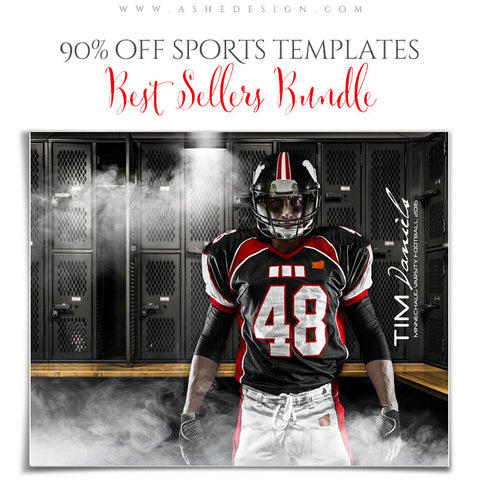 2016 Best Sellers Bundle - Sports Templates